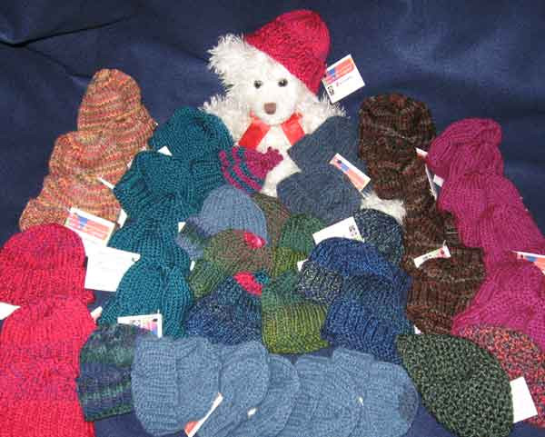 Knitting for Charities – Worn Through