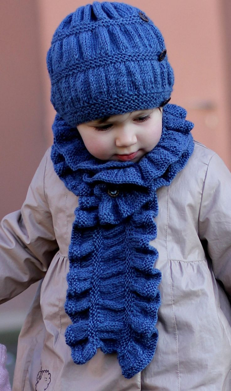 Best Of Knitting Pattern Hat and Scarf Frill Set toddler Child Child Scarf Knit Pattern Of Top 42 Photos Child Scarf Knit Pattern