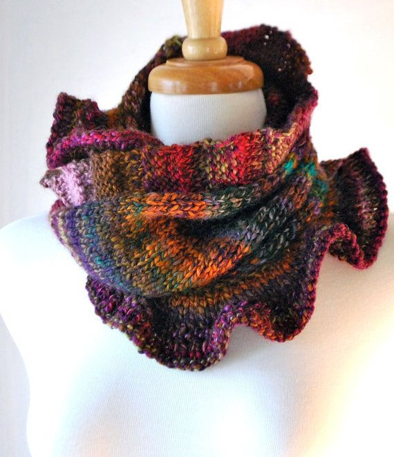 """Best Of Knitting Pattern Pdf Pullover Moebius Cowl """"rib and Ruffle Knit Ruffle Scarf Of Marvelous 50 Pics Knit Ruffle Scarf"""