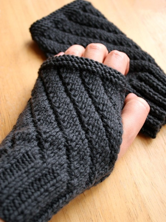 Best Of Knitting Patterns for Men Knitted Fingerless Mittens Of Luxury 48 Images Knitted Fingerless Mittens