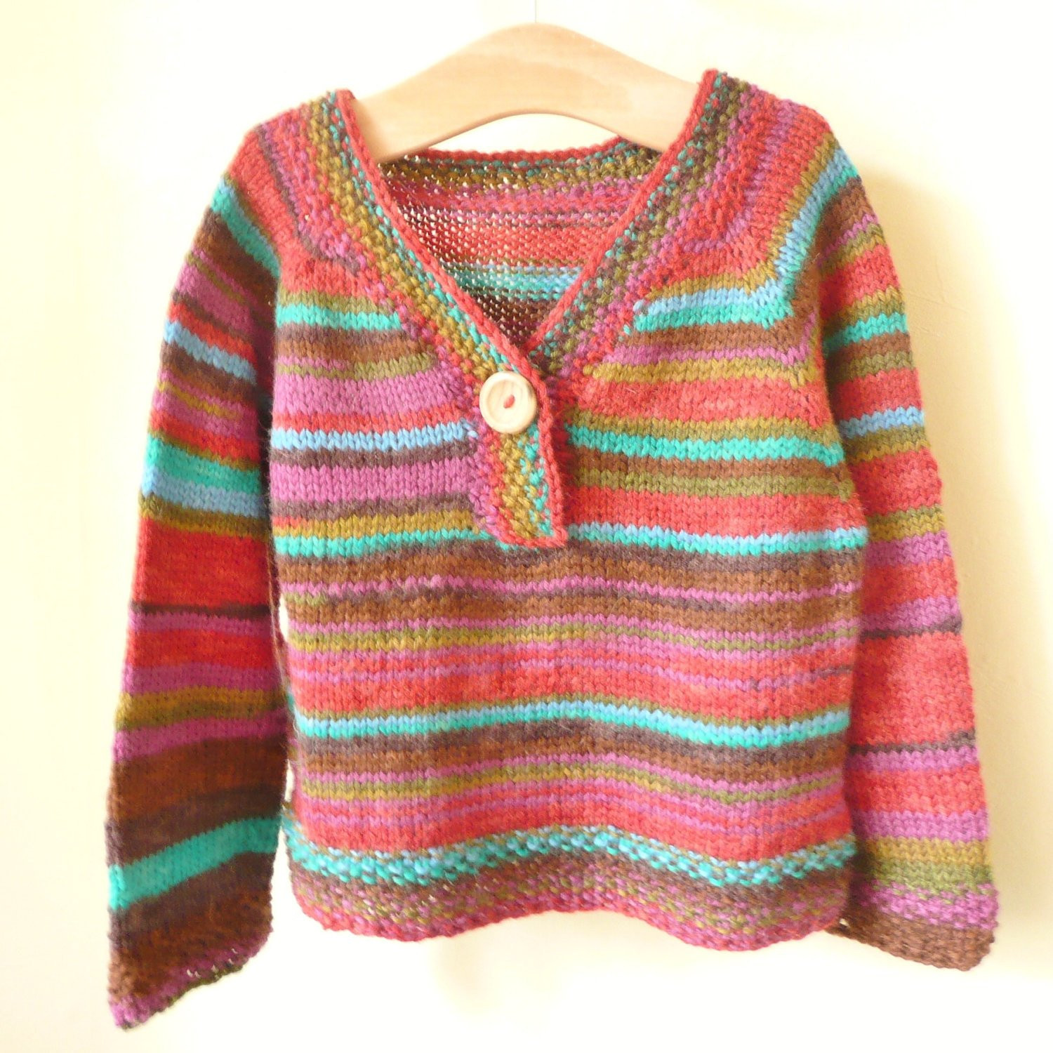 Knitting Patterns For Sweaters For Children