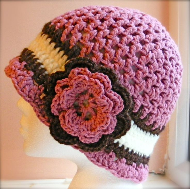 Best Of La S Cloche Hat Crochet Pattern Hat with Flower Caron Patterns Of Charming 48 Pics Caron Patterns