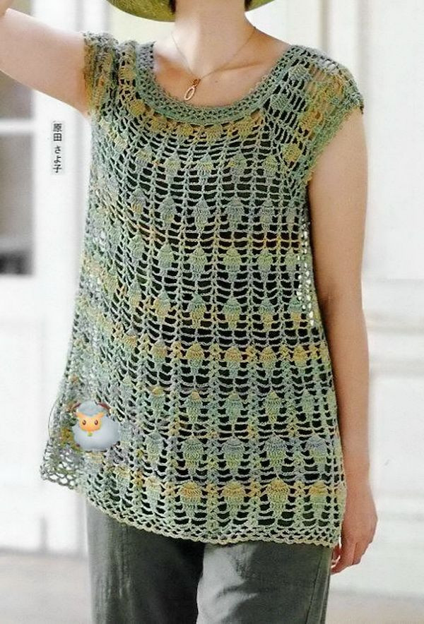 Best Of Lace Crochet Blouse Breeze Clothing Free Crochet Tunic Patterns Of Marvelous 46 Images Free Crochet Tunic Patterns