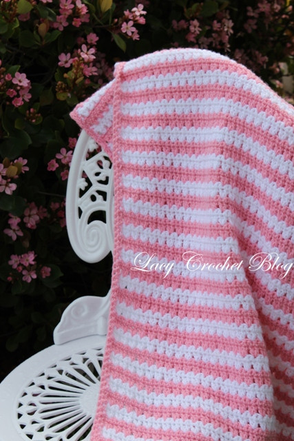 Best Of Lacy Crochet Garden Stripes Baby Blanket or Possibly Lapghan Patterns Of Brilliant 39 Images Lapghan Patterns