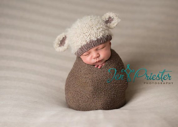 Best Of Lamb Baby Hat Hand Knit Curly Hat Newborn Photo Prop Cream Infant Knit Hat Of Beautiful 48 Photos Infant Knit Hat