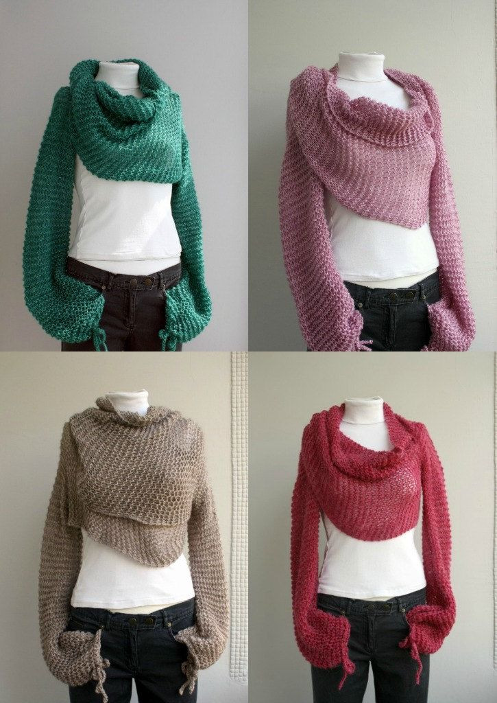 Best Of Last E Free Shipping Green Bolero Scarf Shawl Neckwarmer Scarf with Sleeves Of Lovely 40 Models Scarf with Sleeves
