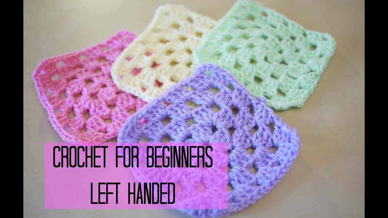Best Of Left Handed Crochet How to Crochet A Granny Square for Granny Square for Beginners Of Marvelous 46 Pics Granny Square for Beginners