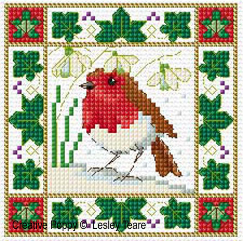 Best Of Lesley Teare Designs Christmas Birds Cards Cross Christmas Cross Stitch Patterns Of Charming 48 Pics Christmas Cross Stitch Patterns