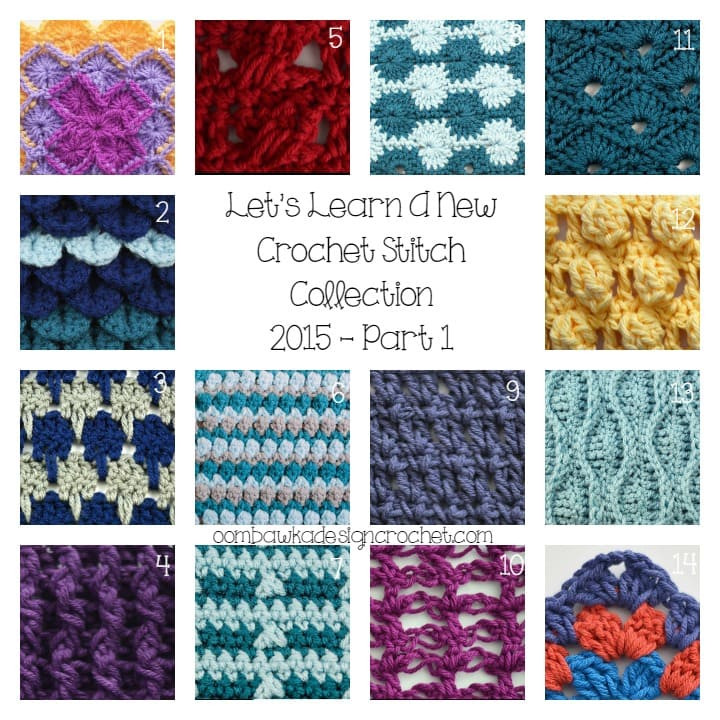 Let s Learn a New Crochet Stitch Collection 2015