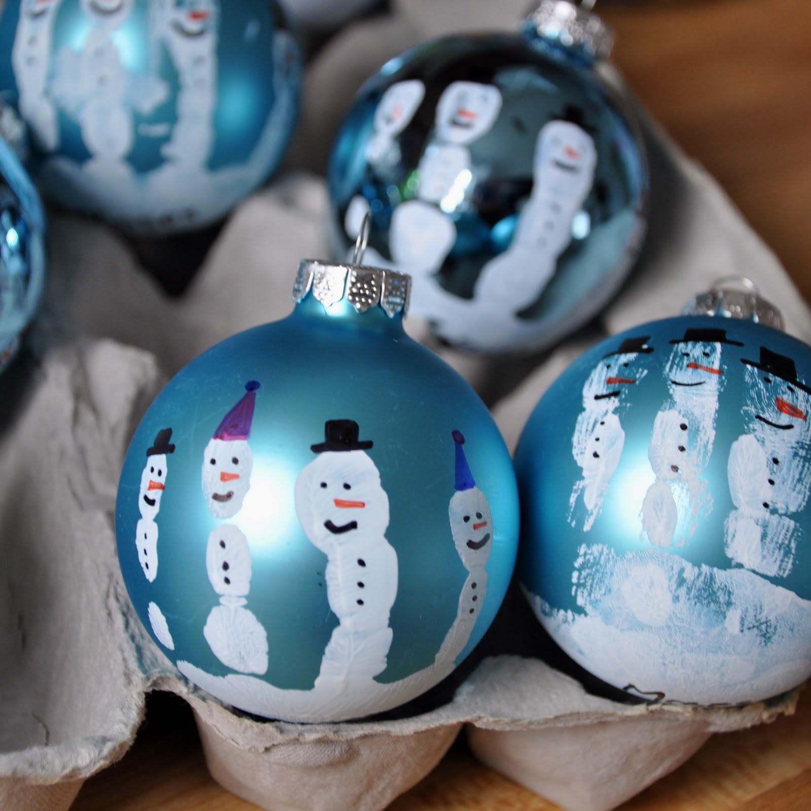Best Of Little Bit Funky Make these now Handprint Snowman Snowman Christmas ornaments Of Adorable 45 Models Snowman Christmas ornaments