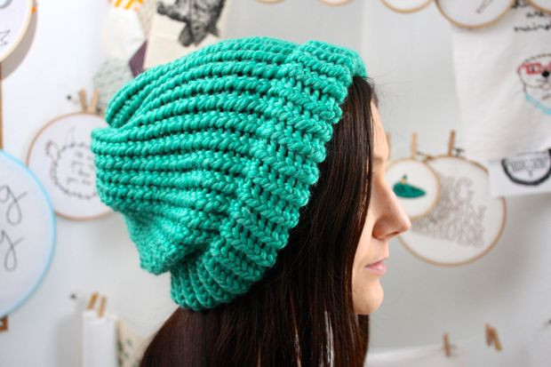 Loom Knit Slouchy Hat Patterns