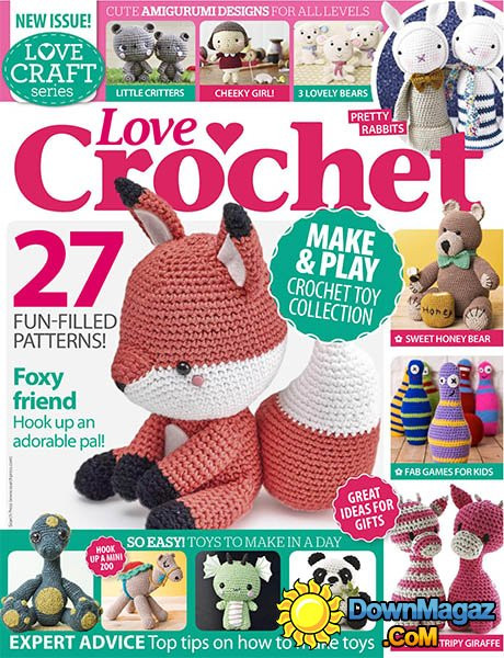 Best Of Love Crochet June 2016 Download Pdf Magazines Love Crochet Magazine Of Wonderful 48 Pictures Love Crochet Magazine