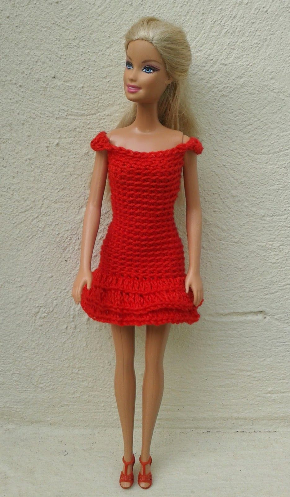 Best Of Lyn S Dolls Clothes Barbie In Red Crochet Dresses Barbie Doll Clothes Patterns Of Contemporary 50 Pictures Barbie Doll Clothes Patterns