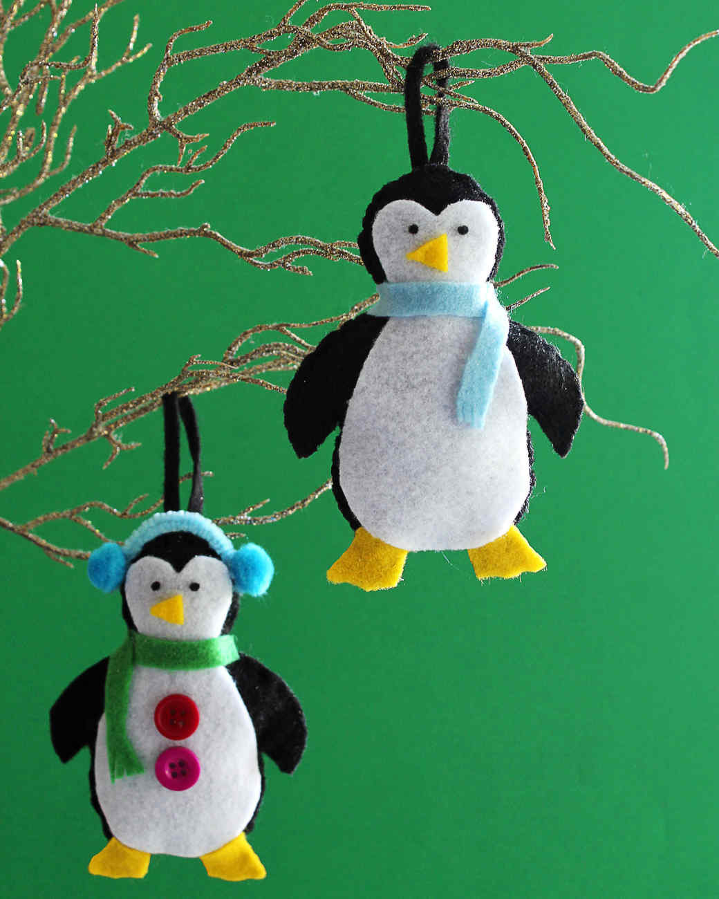 Best Of Make Your Own Adorable Felt Penguin ornaments for the Holidays Penguin Christmas ornaments Of Top 50 Models Penguin Christmas ornaments