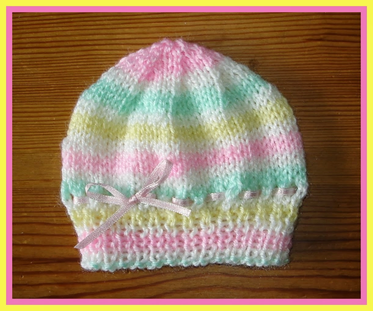 Best Of Marianna S Lazy Daisy Days Candystripe Knitted Baby Hats Knitting Baby Cap Of Lovely 48 Photos Knitting Baby Cap