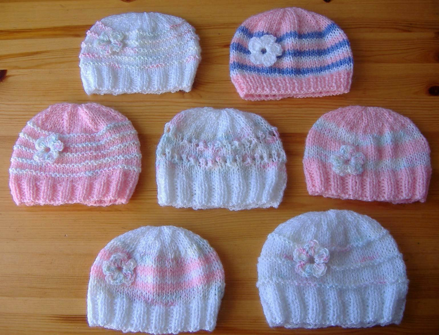 Best Of Marianna S Lazy Daisy Days Knitted Baby Girl Hats Knitting Baby Cap Of Lovely 48 Photos Knitting Baby Cap