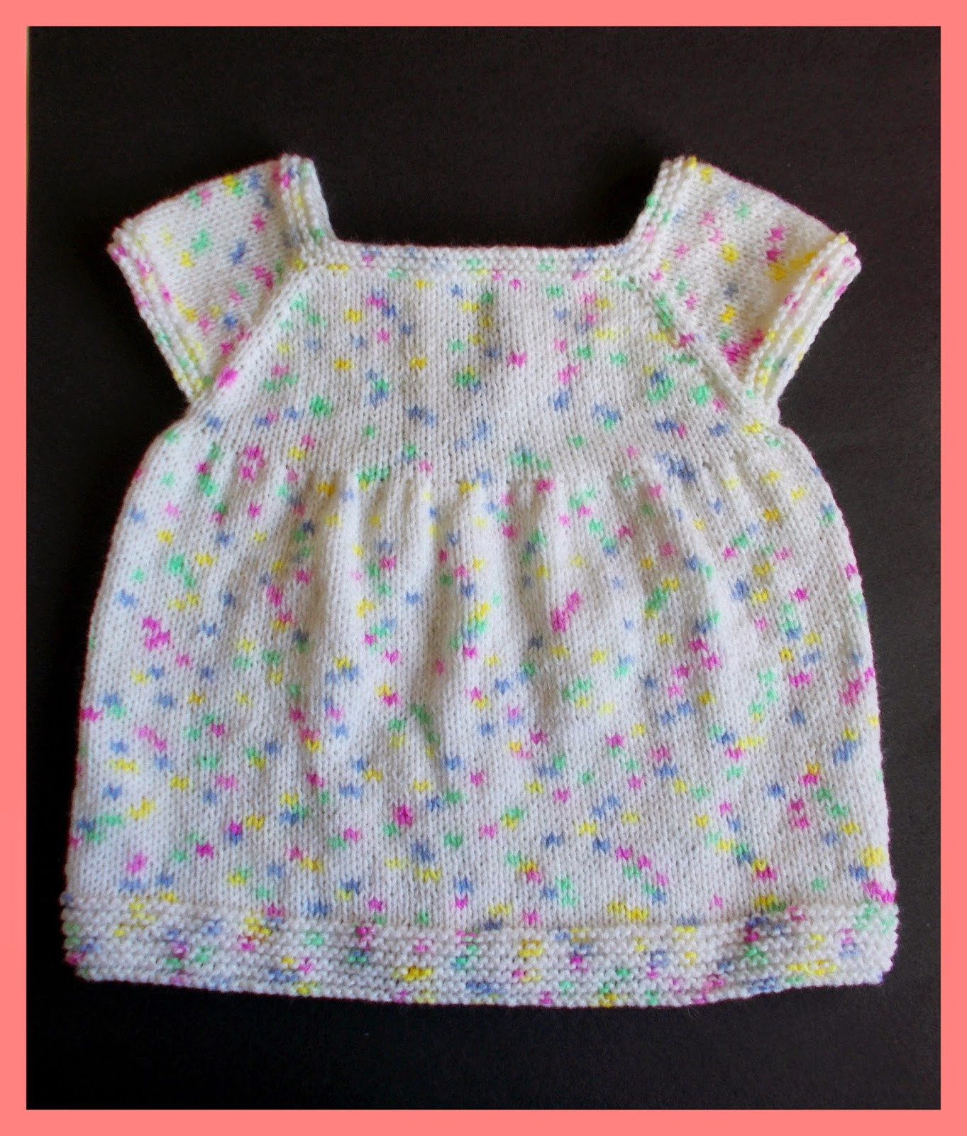 Best Of Marianna S Lazy Daisy Days Starting Out Knitted Baby Dress Knitted Baby Dress Of Brilliant 49 Photos Knitted Baby Dress