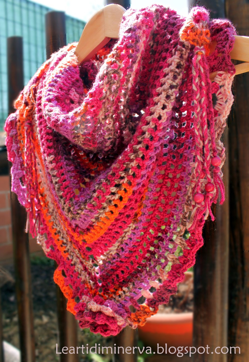 Best Of Maryj Handmade Sciarpa Triangolare All Uncinetto Triangle Scarf Pattern Of Top 49 Models Triangle Scarf Pattern
