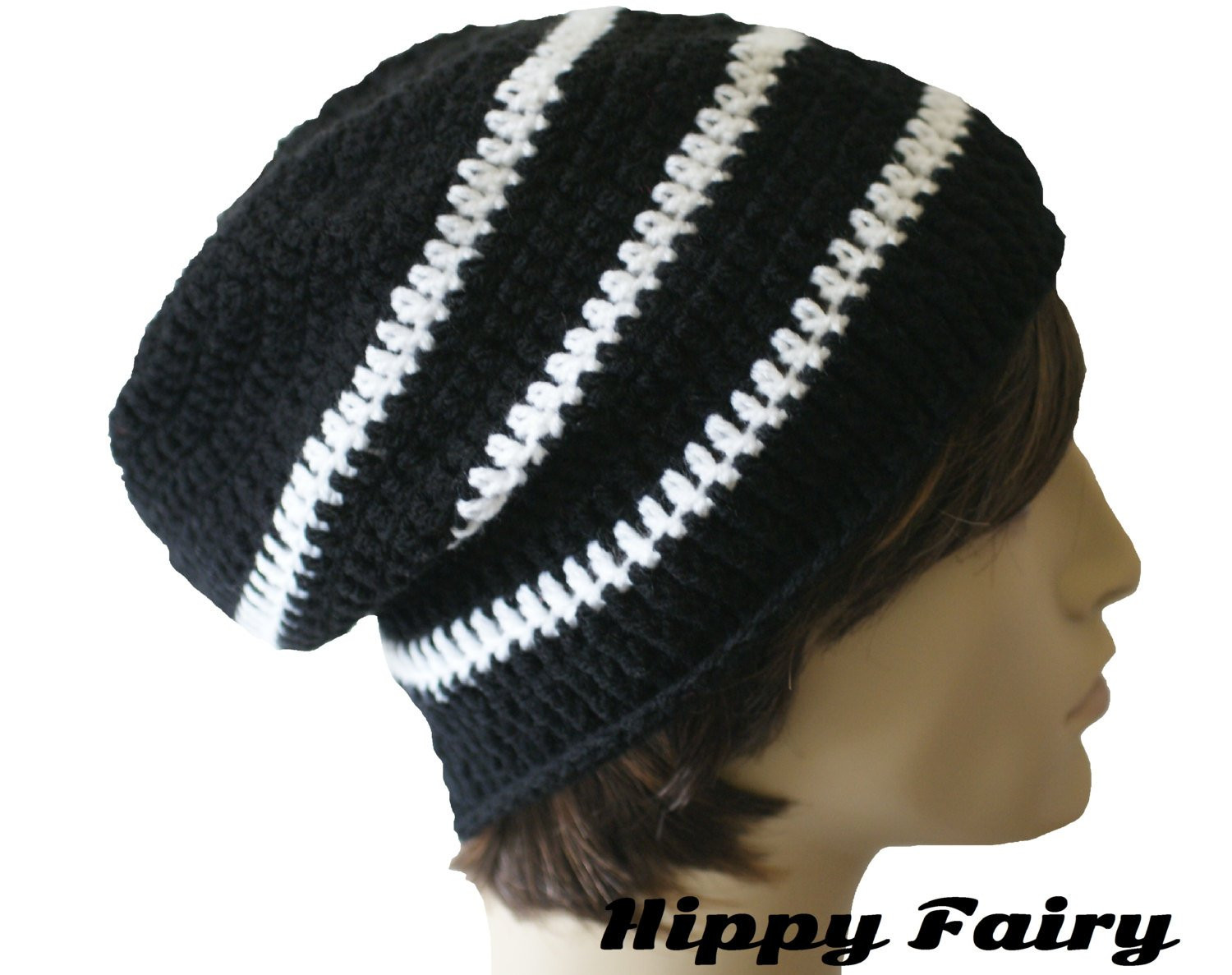 Mens slouchy beanie mens slouchy hat mens or uni mens