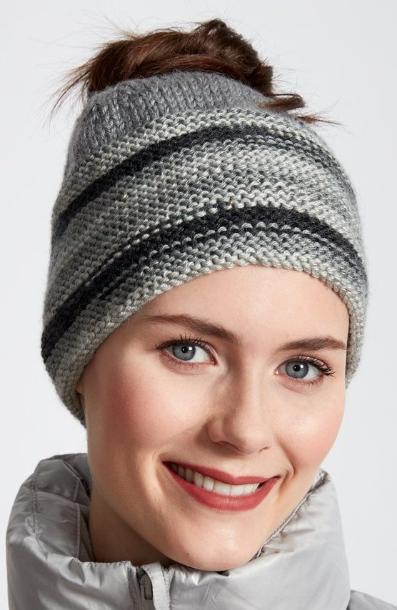 Best Of Messy Bun and Ponytail Hat Knitting Patterns Knit Ponytail Hat Pattern Of Lovely 44 Ideas Knit Ponytail Hat Pattern