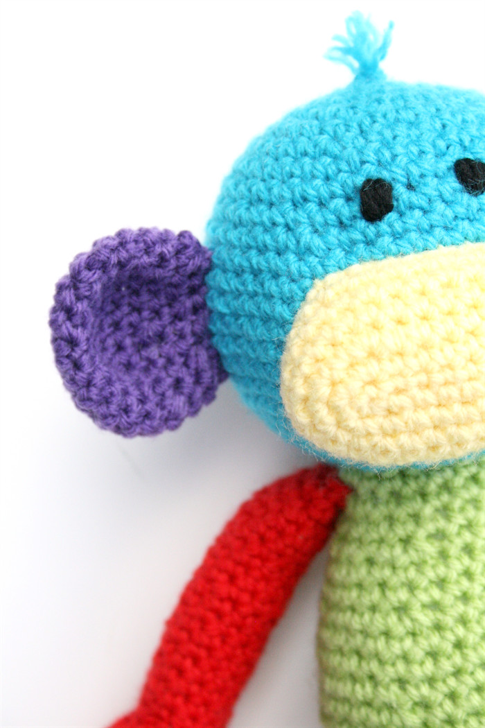 Best Of Mikey the Crochet Monkey Rainbow Colour Block Ready Mikey Crochet Of New 49 Images Mikey Crochet