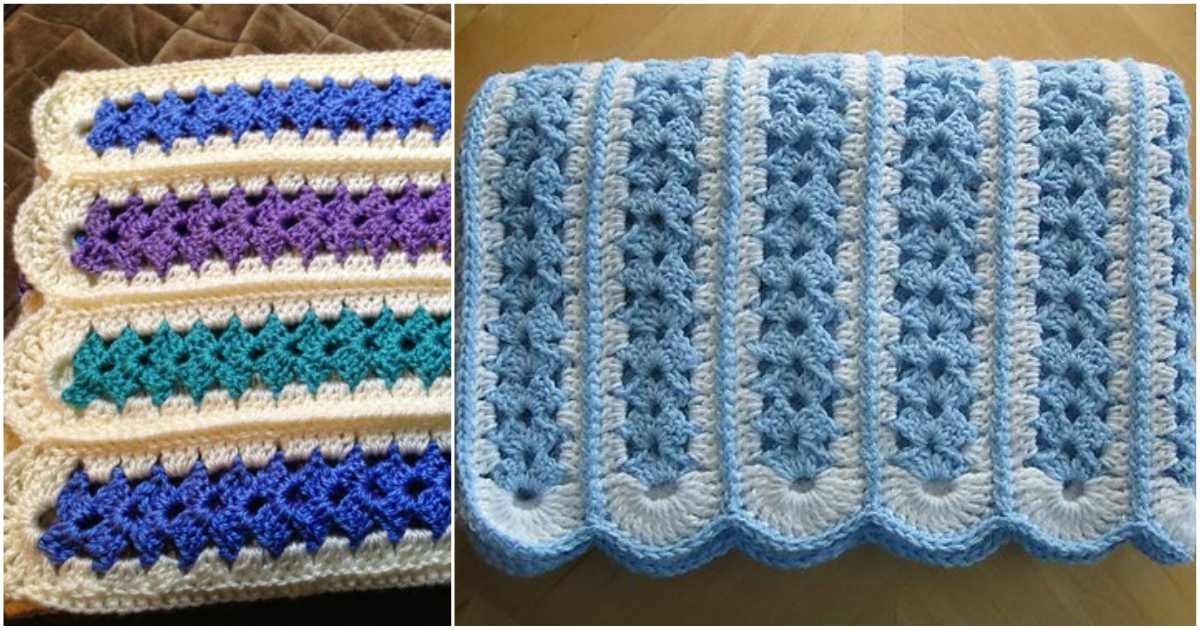 Best Of Mile A Minute Baby Afghan [2nd Crochet Version] Mile A Minute Crochet Afghan Patterns Of Amazing 42 Ideas Mile A Minute Crochet Afghan Patterns
