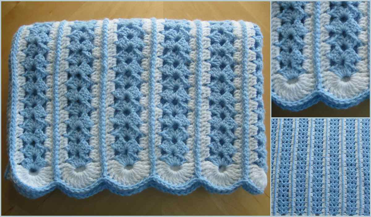 Mile a Minute Baby Afghan [Free Crochet Pattern]