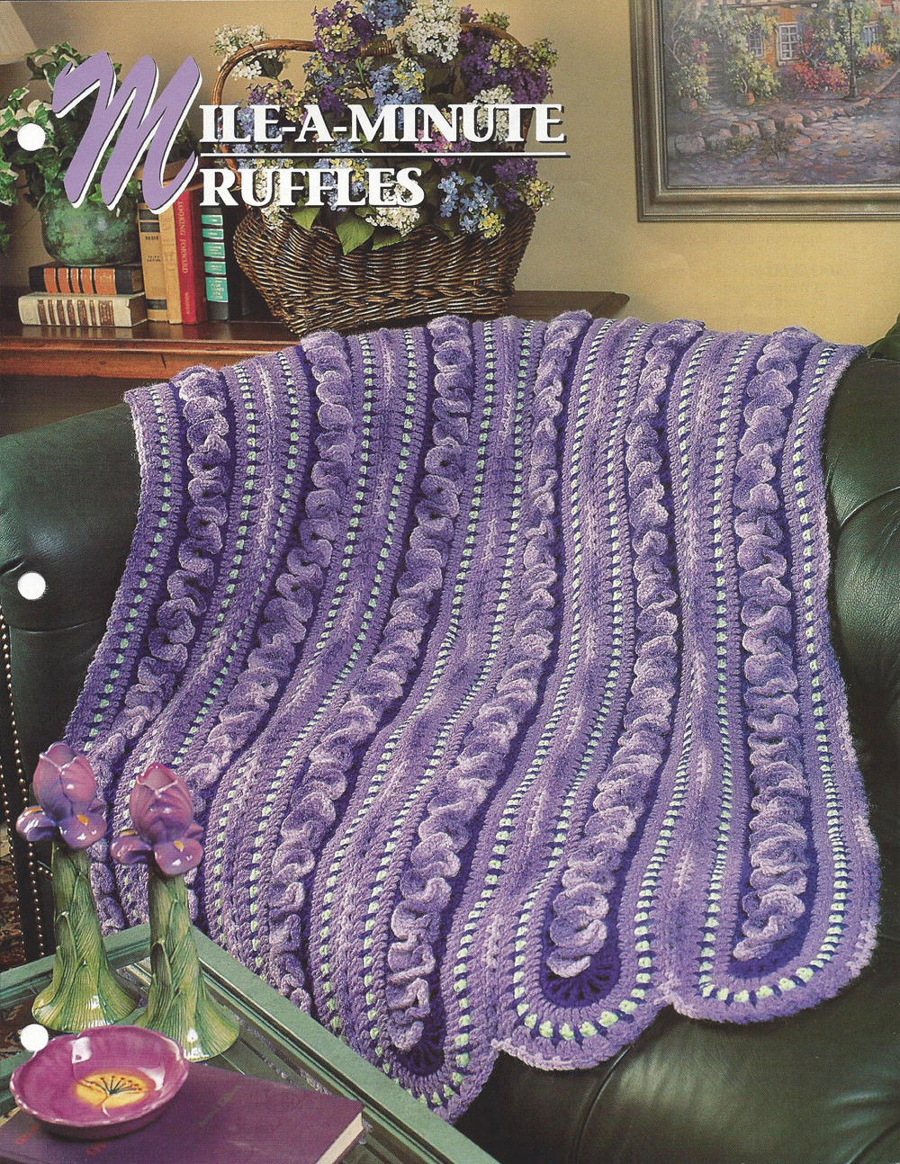 Best Of Mile A Minute Ruffles Annie S Crochet Quilt & Afghan Mile A Minute Crochet Of Beautiful 37 Photos Mile A Minute Crochet