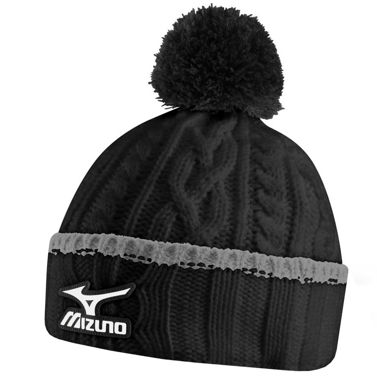 Best Of Mizuno Golf 2015 Mens Cable Knit Bobble Pom Pom Knitted Winter Knit Hats Of Charming 40 Photos Winter Knit Hats
