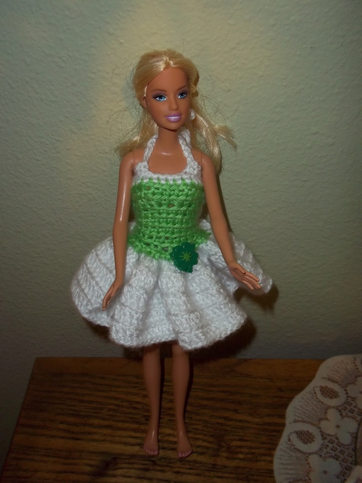 Best Of My Turn for Us Free Barbie St Paddy S Dress Pattern Crochet Barbie Clothes Of Marvelous 46 Photos Crochet Barbie Clothes