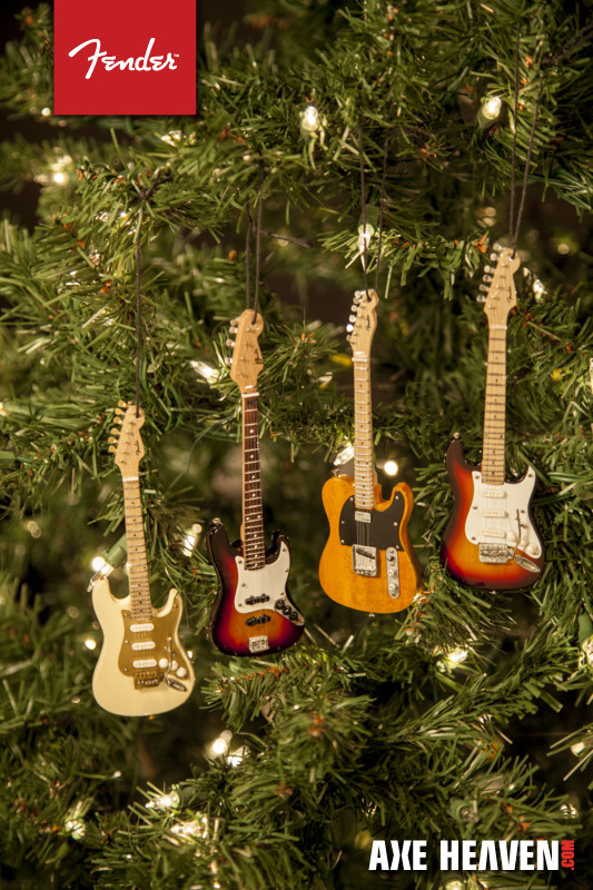 Best Of New 2014 Mini Fender Christmas Guitar ornaments – Axe Miniature Christmas Decorations Of Fresh 50 Pictures Miniature Christmas Decorations