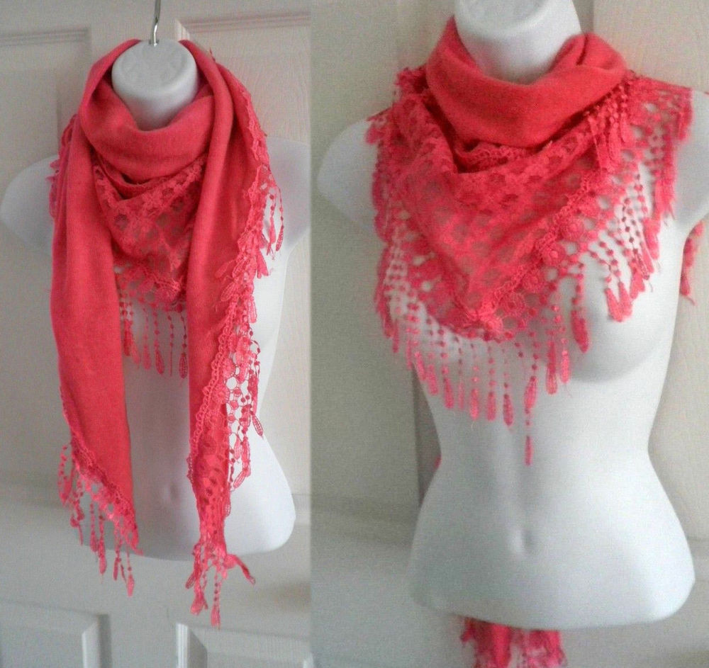 Best Of New Women Winter Warm Triangle Knitted Long Scarf with Knitted Shawl Wrap Of Superb 49 Images Knitted Shawl Wrap