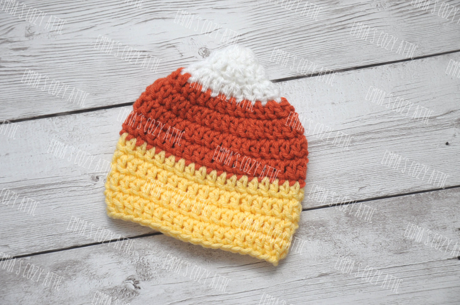 Newborn candy corn hat baby candy corn hat newborn halloween