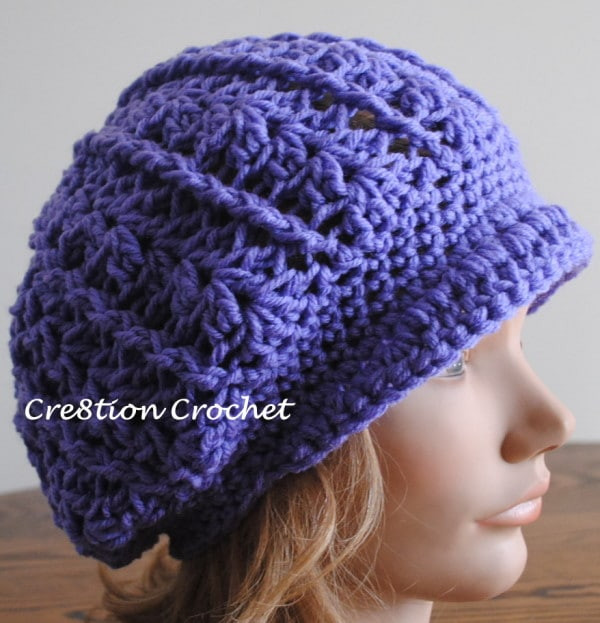 Best Of Newsboy Slouch Crochet Hat Crochet Hat with Brim Free Patterns Of Incredible 49 Ideas Crochet Hat with Brim Free Patterns
