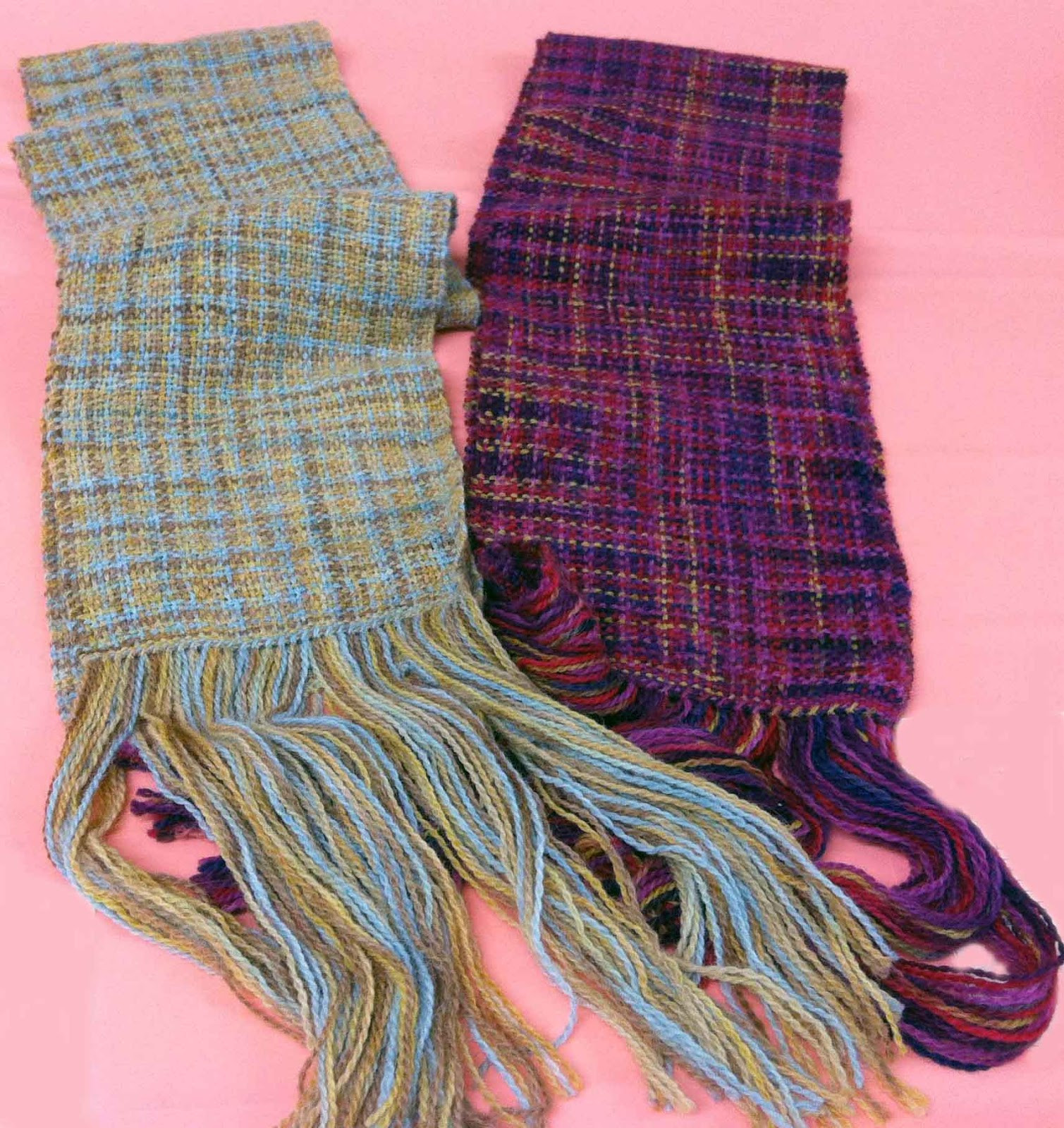 Best Of Not 2 Square Weavers Knitting Yarns Into Handwoven Scarves Yarn Scarf Of Attractive 49 Photos Yarn Scarf