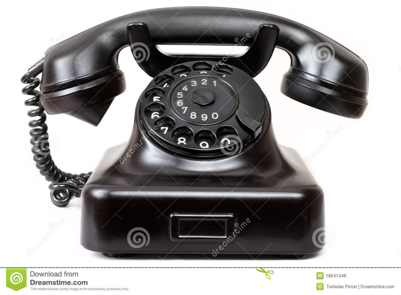 Best Of Old Phone Stock Photo Image Of isolated Receiver Old Time Phone Of Great 44 Models Old Time Phone
