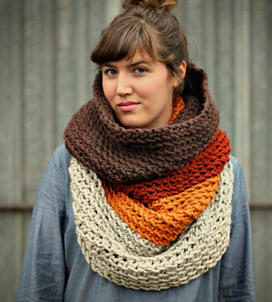 Best Of Ombré Cowl Neck Scarf Amber Cowl Scarf Of Innovative 48 Photos Cowl Scarf