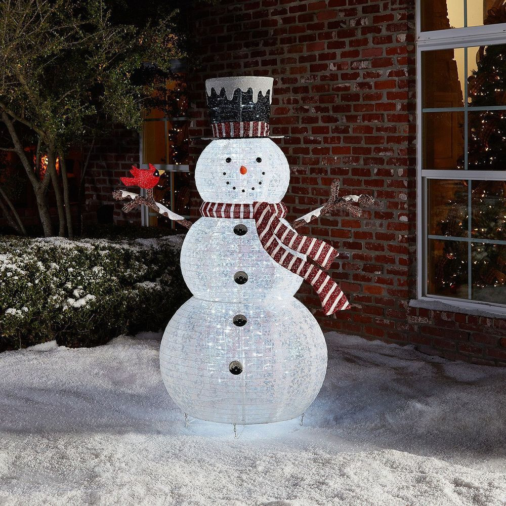 Best Of Outdoor Christmas Decoration Pop Up Snowman Holiday Yard Christmas Snowman Decorations Of Adorable 41 Models Christmas Snowman Decorations