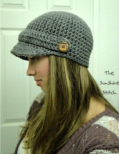 "Best Of Pattern Pdf Crochet Adult Newsboy Cap ""puddle Free Crochet Hat Patterns for Adults Of Incredible 50 Pics Free Crochet Hat Patterns for Adults"