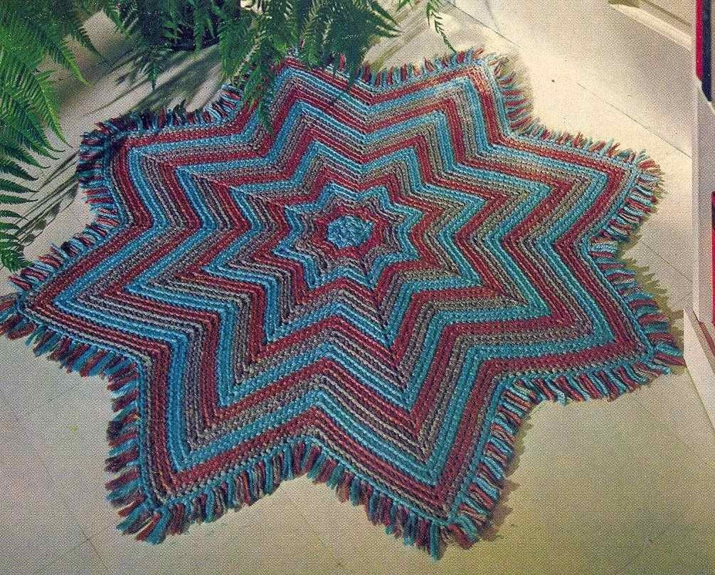 Best Of Pdf Crochet Pattern 8 Pointed Star for Rug Blanket Throw Crochet Star Blanket Of Superb 49 Images Crochet Star Blanket