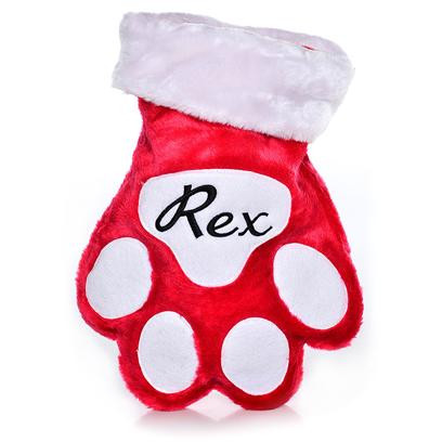 Best Of Petcarerx Customized Holiday Paw Stocking Giveaway Dog Paw Stocking Of Charming 44 Ideas Dog Paw Stocking