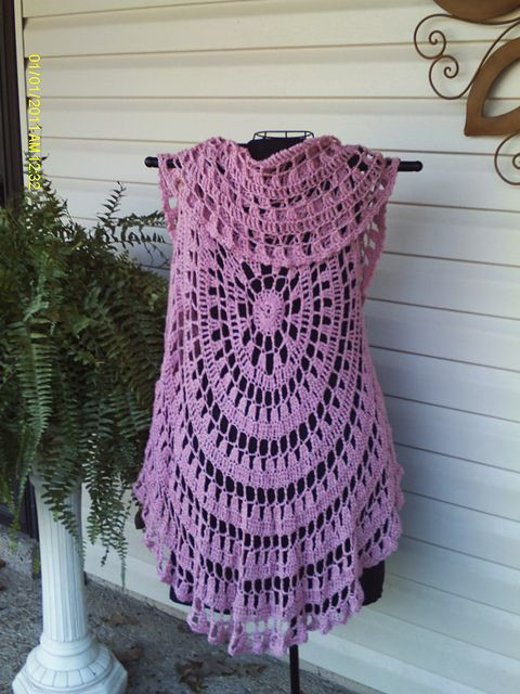Best Of Pink Circle Vest Free Pattern Vest Pattern Free Of Amazing 43 Images Vest Pattern Free
