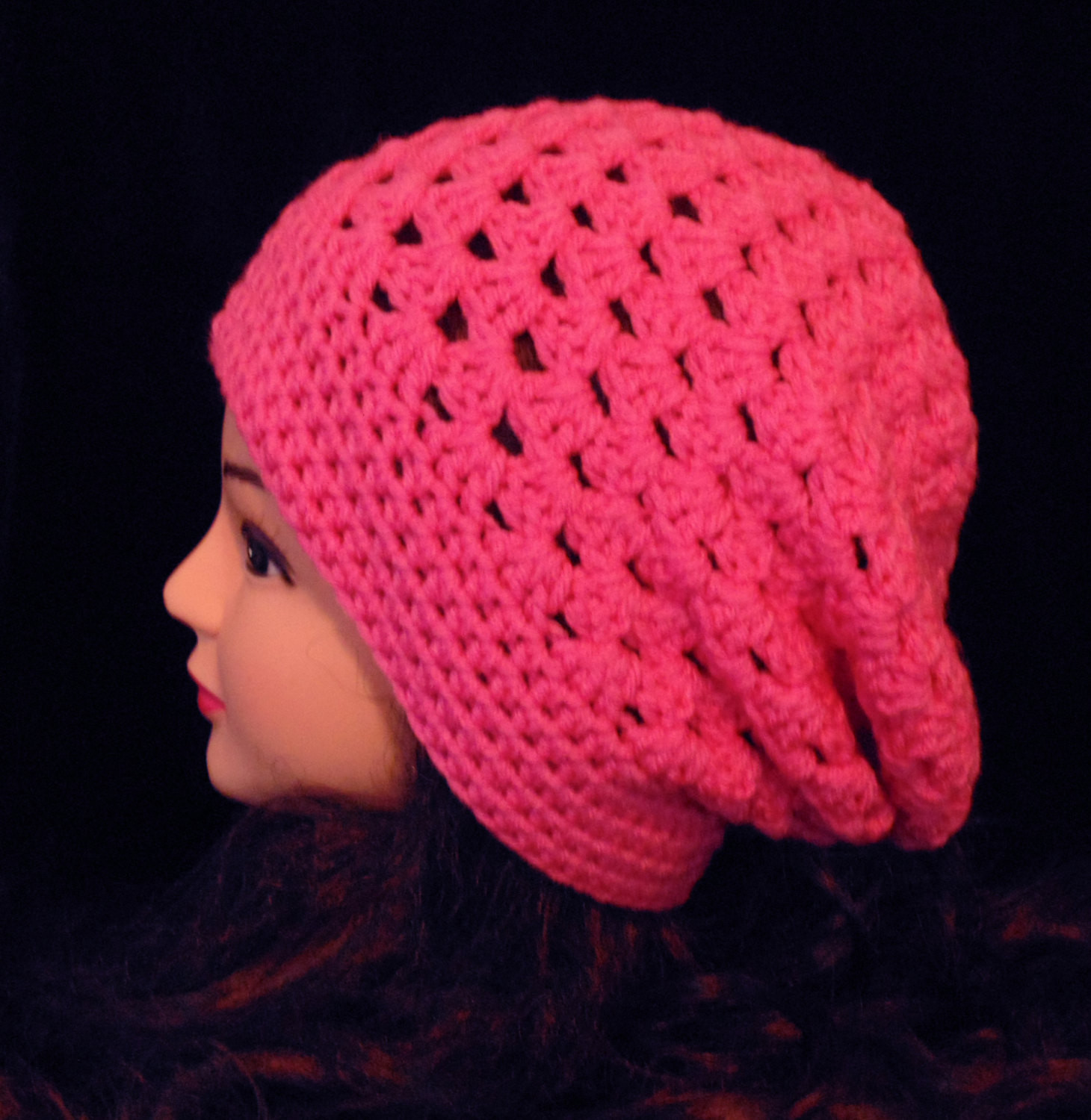 Best Of Pink Crochet Hat Crochet Beanie Hat Womens Hat Womens Pink Crochet Hat Of Great 43 Models Pink Crochet Hat