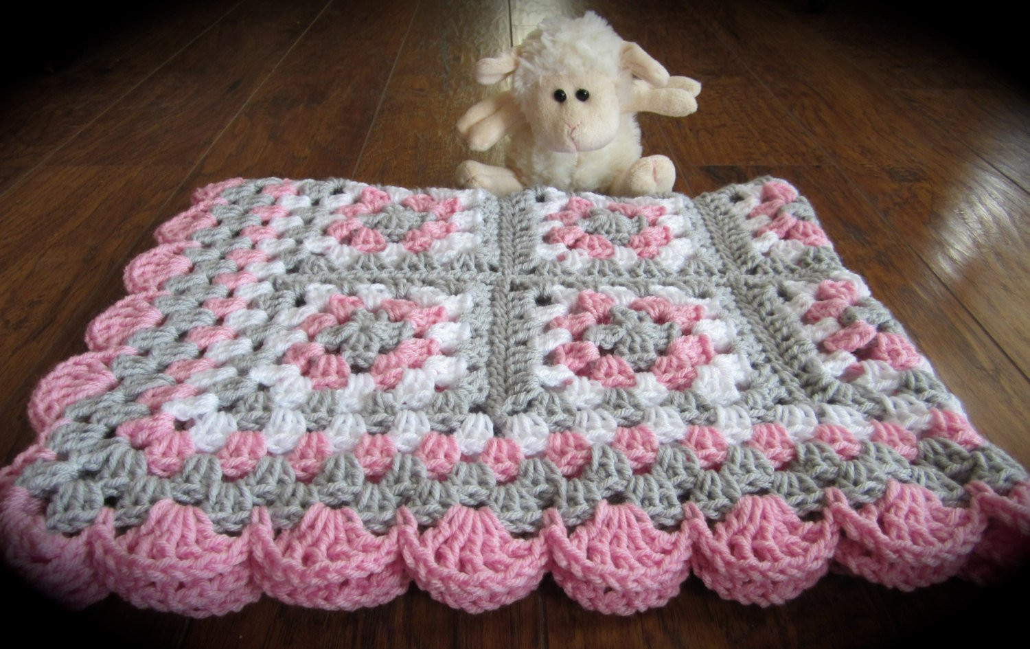 Best Of Pink Gray Baby Granny Square Blanket Crochet Pink and Gray Baby Blankets to Crochet Of Amazing 46 Images Baby Blankets to Crochet