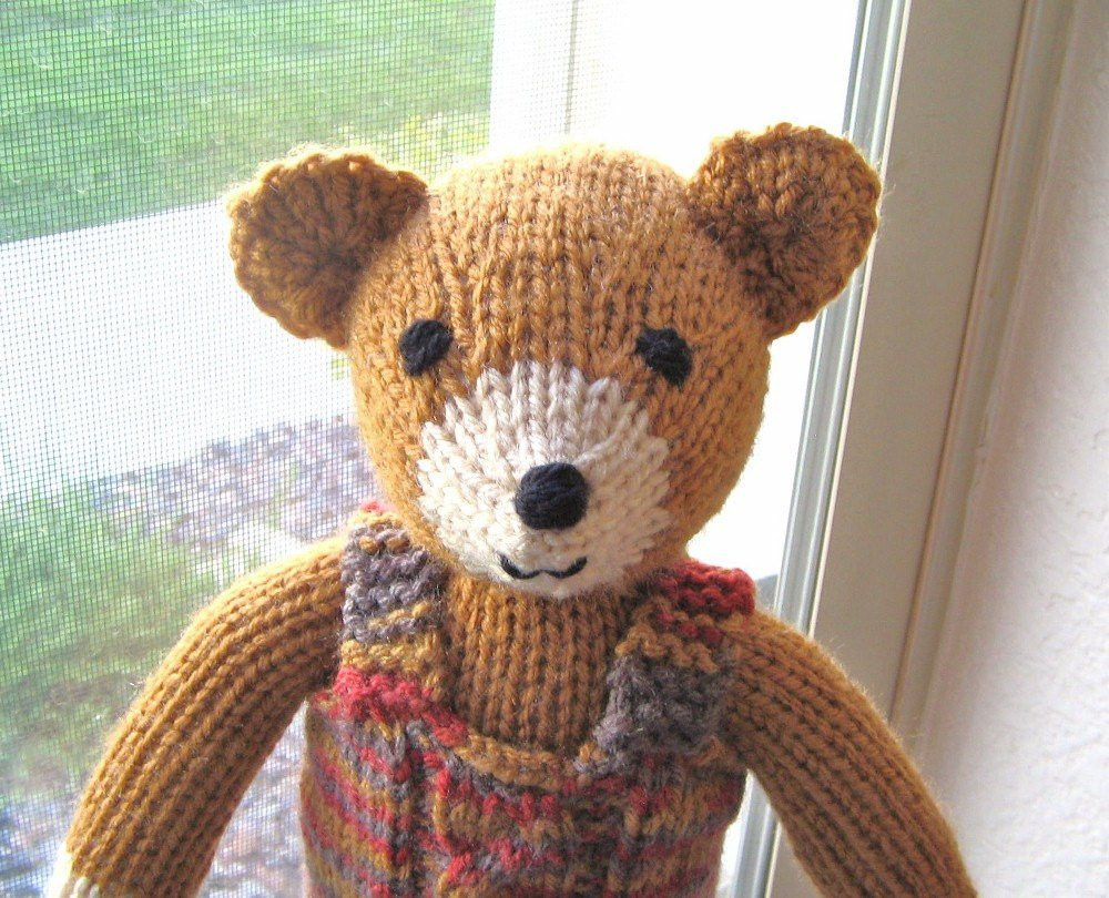 Best Of Plush Teddy Bear Hand Knit toy Stuffed Animal Ginger Brown Knit Stuffed Animals Of Beautiful 47 Pics Knit Stuffed Animals