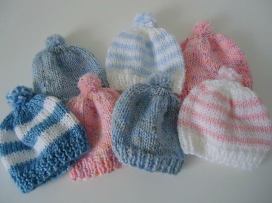 Best Of Pom Pom Newborn Hat Knitting Baby Hats for Hospitals Of Beautiful 50 Pics Knitting Baby Hats for Hospitals