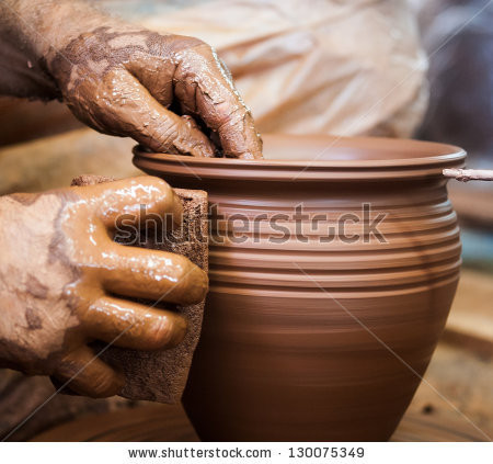Best Of Pottery Making Stock Royalty Free & Vectors Clay Pottery Wheel Of Superb 47 Pictures Clay Pottery Wheel