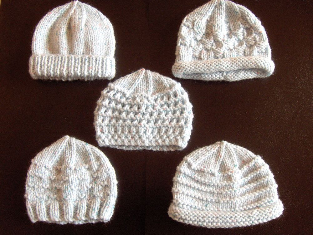 Best Of Premature Small Baby Knitting Pattern for 5 Hats Knitted Preemie Hats Of Contemporary 46 Images Knitted Preemie Hats