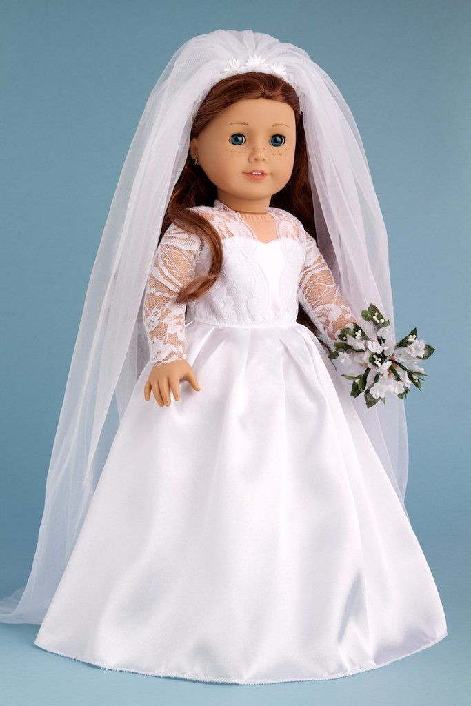 Best Of Princess Kate Clothes for 18 Inch Doll Royal Wedding American Girl Doll Wedding Dress Of New American Girl Doll Clothes Traditional Wedding Gown Dress American Girl Doll Wedding Dress