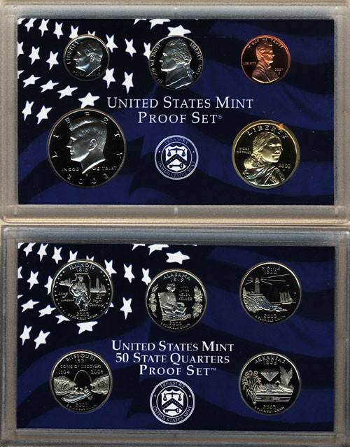 Best Of Proof Sets Us Coin Prices and Values State Quarter Set Value Of New Washington 50 State Quarters Program 1999 2008 State Quarter Set Value
